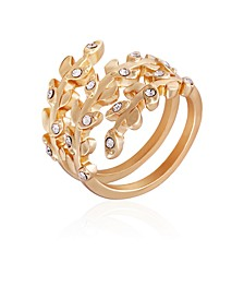 Women's Fashionable Florals Wrap Around Ring