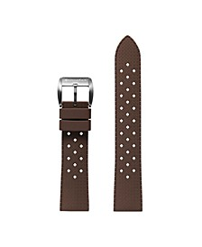 Men's Oahu Tropic Brown Rubber Strap 22mm