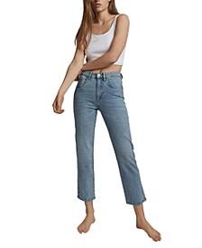 Women's Straight Stretch Denim Jean