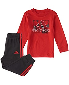 Baby Boys Long Sleeve Playtime Top & Jogger Set