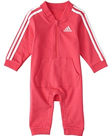Baby Girls Long Sleeve Tracksuit Coverall