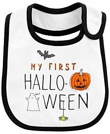 Baby Boy or Girl  Halloween Teething Bib