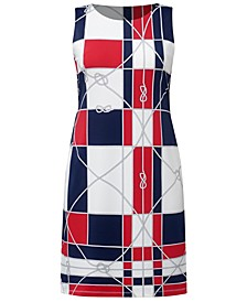 Petite Printed Shift Dress, Created for Macy's