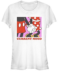Women's Disney Mickey Classic Current Mood Short Sleeve T-shirt