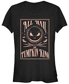 Women's Nightmare Before Christmas Hail the Pumpkin King Short Sleeve T-shirt