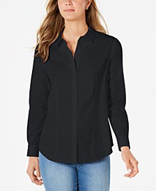 Classic Button-Front Shirt, Created for Macy's