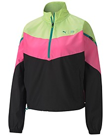 Train First Mile Xtreme Colorblocked Half-Zip Training Jacket
