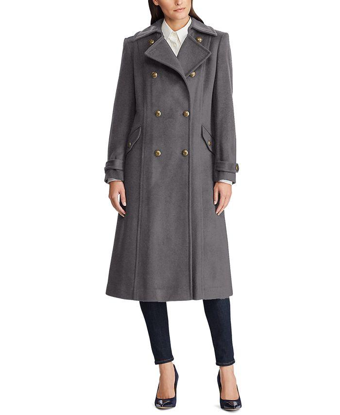Lauren Ralph Lauren - Double-Breasted Wool-Blend Coat