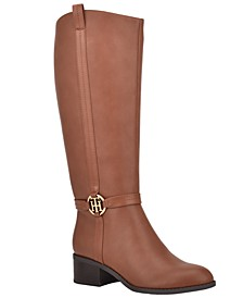 Diwan Wide-Calf Boots