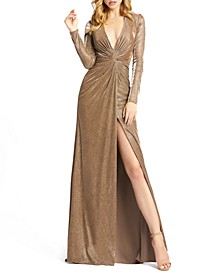 Twist-Front Gown
