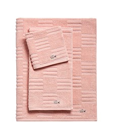 CLOSEOUT! Sculpted Squares Bath Towel Collection