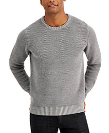 INC Men's Crewneck Letter Sweater, Created for Macy's