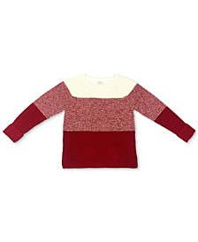 Colorblocked Pointelle Sweater, Created for Macy's