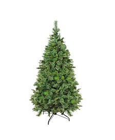 Full Ashcroft Cashmere Pine Artificial Christmas Tree-Unlit