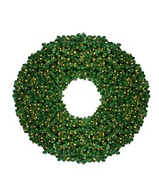 Pre-Lit Olympia Pine Artificial Christmas Wreath