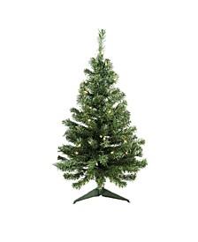 Pre-Lit Medium Niagara Pine Artificial Christmas Tree
