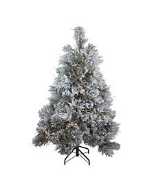 Pre-Lit LED Spruce Artificial Christmas Tree