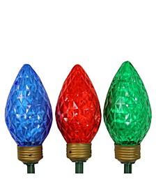 LED Jumbo Bulb Christmas Pathway Marker Lawn Stakes