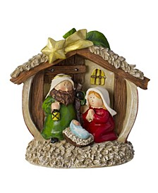 Table top Children's First Nativity Scene Christmas Decoration