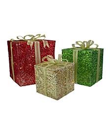 Gi Box Lighted Christmas Outdoor Decoration