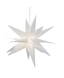 Lighted Foldable Moravian Star Hanging Christmas Decoration