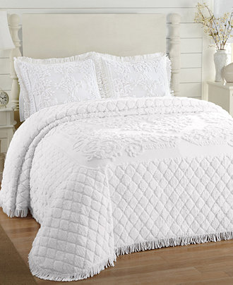 josephine chenille bedspreads quilts bedspreads bed bath macy 39 s. Black Bedroom Furniture Sets. Home Design Ideas