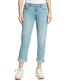 Distressed Boyfriend Jeans