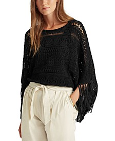 Boxy Fringed Top
