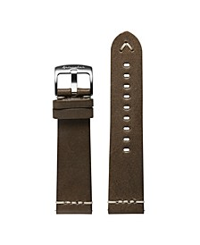 Men's Marino Brown Leather Strap 22mm