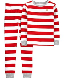 Boy or Girl 2-Piece Christmas Thermal PJs