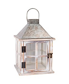 Holiday Galvanized Lantern