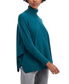 Alfani Drop-Shoulder Turtleneck Sweater, Created for Macy's
