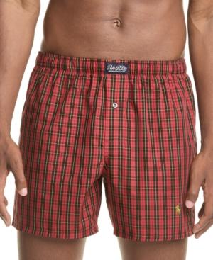Polo Ralph Lauren Men's Plaid Woven Cotton Boxers