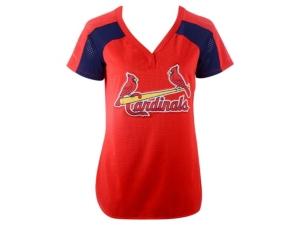 Authentic Apparel St. Louis Cardinals Women's League Diva T-Shirt