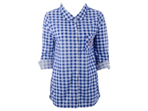Concepts Sport Chicago Cubs Women's Wanderer Plaid Shirt