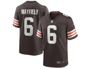 Nike Cleveland Browns Men's Game Jersey Baker Mayfield