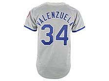 Los Angeles Dodgers Men's Authentic Cooperstown Jersey Fernando Valenzuela
