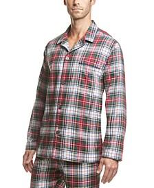 폴로 랄프로렌 플란넬 파자마 셔츠 Polo Ralph Lauren Mens Printed Cotton Flannel Pajama Shirt