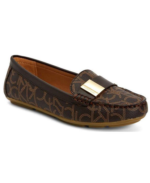 Calvin Klein Women's Lisa Monogram Loafers