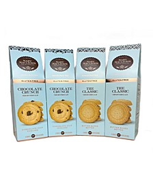 Peaked Gift Boxes of Gluten Free Shortbread, 4 Pack