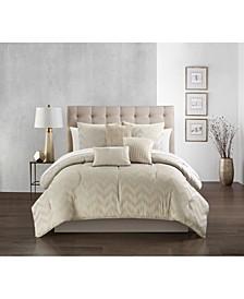 Meredith 10 Piece Queen Comforter Set