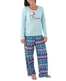 Women's Peanuts Family Pajamas Set