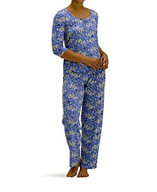Hue Women's Cloudy Sheep 2pc Pajama Set