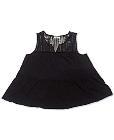 Embroidered Sleeveless Tunic, Created for Macy's