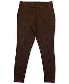 Petite Seam-Front Pull-On Pants, Created for Macy's