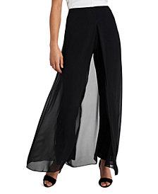 MSK Chiffon Overlay Pants