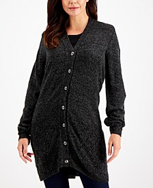 Turbo Button-Up Duster Cardigan, Created for Macy's