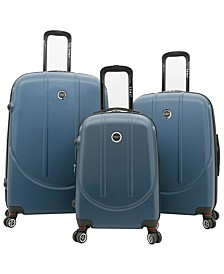 Traveler's Club Falkirk 3pc. Hardside Expandable Luggage Set