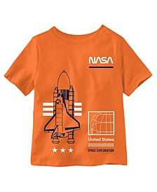 Toddler Boys NASA Space Exploration Graphic T-shirt