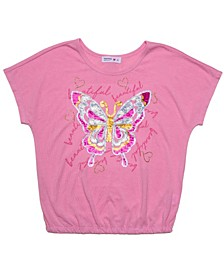 Girls Butterfly Tee